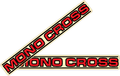1983-86 Yamaha YZ Mono-Cross Swingarm Decals