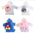 Warm and Cozy- Bathrobe & Bib Package