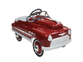 Deep Burgundy Comet Pedal Car