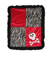 Color Block (Funny Bones) Appliqué Blanket