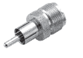 RCA Male to UHF (SO-239) Adapter