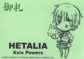 Axis Powers Hetalia Mini Ring Notepad - England