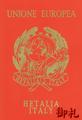 Axis Powers Hetalia Passport Notebook - North Italy