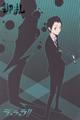 Durarara!! A6 Ring Notebook - Mikado Shadow version