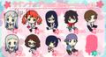 """Ano Hana Rubber Strap Collection - Matsuyuki """"Yukiatsu"""" Atsumu B version"""