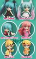 Hatsune Miku Selection Nendoroid Petit Trading Figures - Miku Mikurisutaru ver.