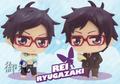 Free! Karakore Trading Figures -  Ryuugazaki Rei Swimsuit ver.