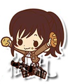 Attack on Titan Rubber Straps - Sasha Braus