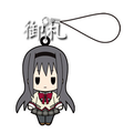 Puella Magi Madoka Magica Rubber Strap vol 1 - Akemi Homura