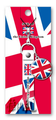 Flags of the World Rubber Straps - United Kingdom