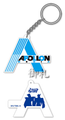 Tiger & Bunny Rubber Keychain - Apollon Media