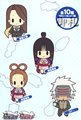 Ace Attorney Rubber Strap Collection Vol. 1 - Pearl Fey