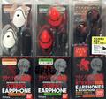 Rebuild of Evangelion Earbud Headphones - Rei Ayanami Version