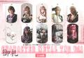 Final Fantasy XIII-2 Character Metal Tag Vol.1 - Lightning Farron (Black Version)