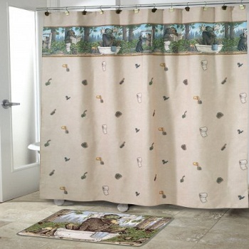 Taking Care of Business Shower Curtain