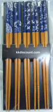 Japanese Style Bamboo Chopsticks Pack
