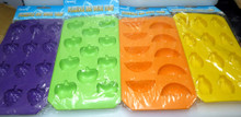 Flexible Fruits Ice Cube Trays