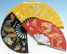 Nylon Dragon Kung Fu Folding Fan