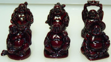 Small Happy Buddha Figurines