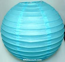 Blue Chinese Paper Lantern