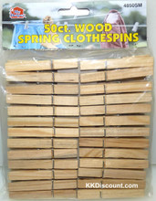 Wooden Spring Clothespins
