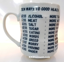 Ten Ways to Good Health Mug