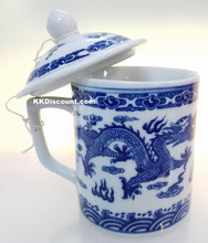 Dragon Mug with Lid