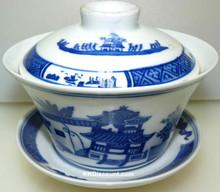 Landscape Tea Cup with Dish