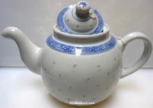 Rice Pattern Round Tea Pot