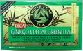 Triple Leaf Ginkgo Decaf Green Tea
