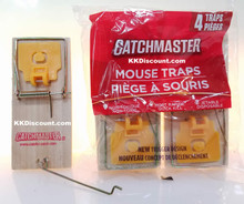 Catchmaster Small Mouse Traps 4 Pack