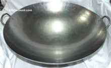 28 Inch Carbon Steel Two Handles Wok top
