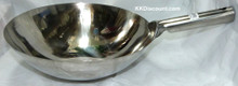 14 Inch Stainless Steel Welded Chinese Wok