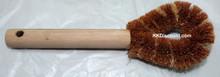 Wok Pot Wooden Handle Palmyra Scrub Brush