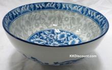 Floral Design 8 Inch Bowl