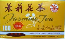 Chinese Jasmine Tea Large Box: 100 tea bags