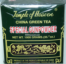 Temple of Heaven China Gunpowder Green Tea 1000g