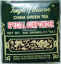 Temple of Heaven China Gunpowder Green Tea 500g