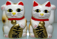 Japanese Fortune Cat Figurine