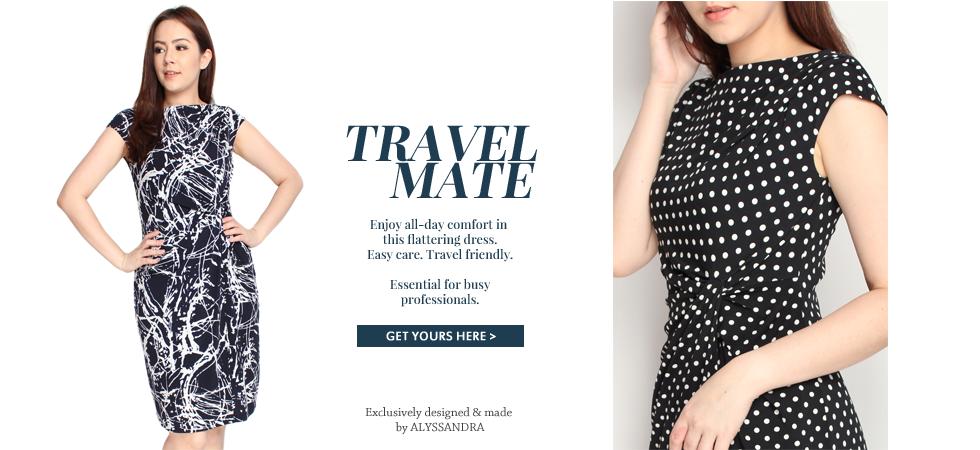 Side Twist Jersey Dress
