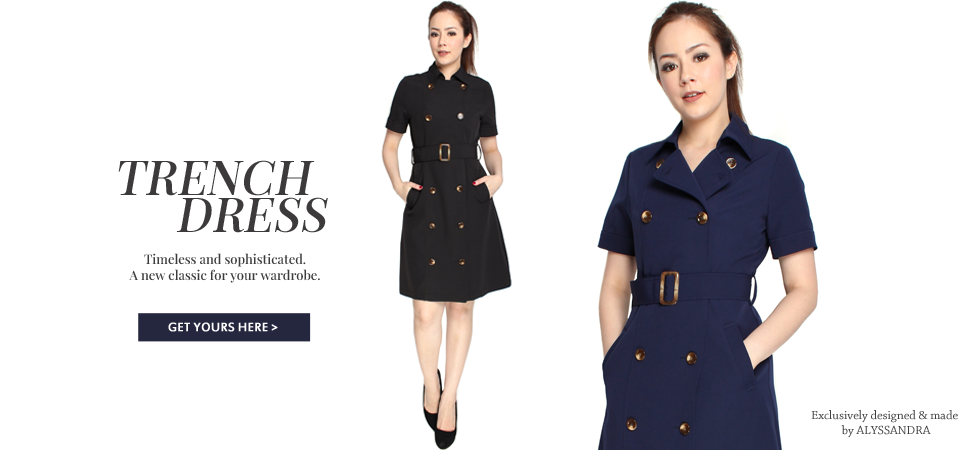 Classic Trench Dress