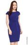 Jersey Sheath Dress - Indigo
