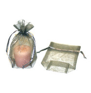 5 x 6 Rectangle Bottom Organza Bag - 3 pcs