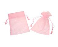 SPECIAL - 4 x 5 Organza Bag w/ Fine Tassel Hair - 6 pcs