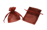4 x 5 Two Tone Organza Bag - 6 pcs