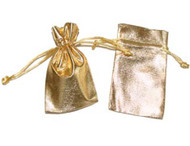 5 x 7 Metallic Lamé Bag - 12 pcs