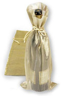 6.5 x 15 Gold Metallic Bag - 1 pc