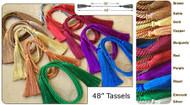 48 inch Tassel Set