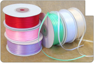 1/8 inch Double Sided Satin Ribbon - 100 yds