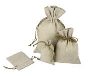 8 x 10 Linen Bag - 12 pcs